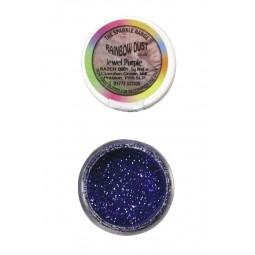 Rainbow dust purple glitter sift