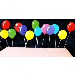 Wired bright balloons