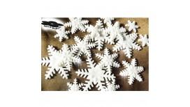 Baltos spalvos blizgančios snaigės