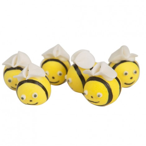 Sugar decorations - Bees