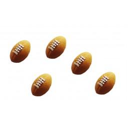 Geltonios spalvos regbio kamuoliai