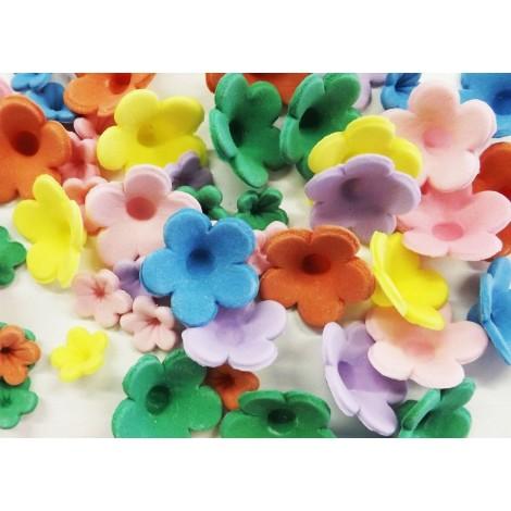 Įvairiaspalvės gėlės