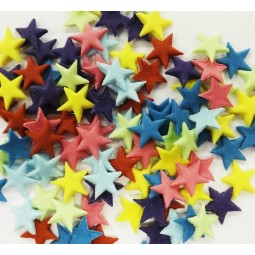 Various colours stars