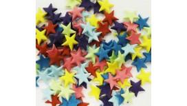 Įvairių spalvų žvaigždutės