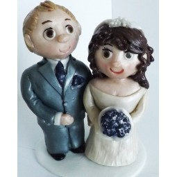Personalized Wedding cake topper 3D