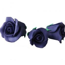 Plush purple rose