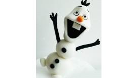 Sniego besmegenis Olafas 3D