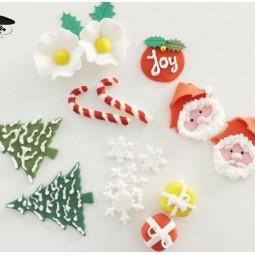Kalėdinis rinkinys tortų ir keksiukų puošimui