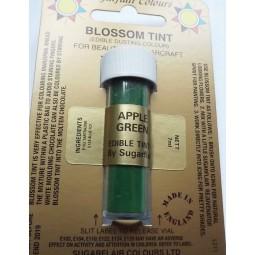 Sugarflair Apple green maistiniai milteliniai dažai 7ml
