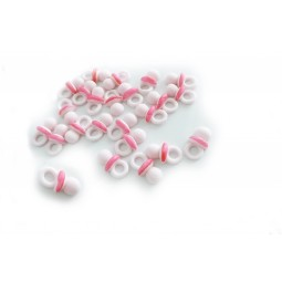 Pink colour baby soothers
