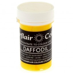 Sugarflair Concentrated Food Daffodil Color Edible Paste 25g