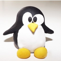 Kalėdinis torto ir keksiukų papuošimas Pingvinas