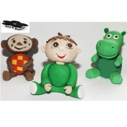 Baby TV animaciniai veikėjai 3D