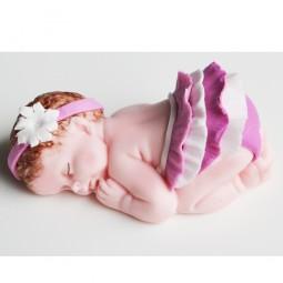"""Figūrėlė """"Kūdikis"""" mergaitė krikštynoms, kūdikio sutiktuvėms"""
