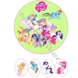 Wafer paper My Little pony