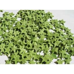 Christmas green spalvos žvaigždutės