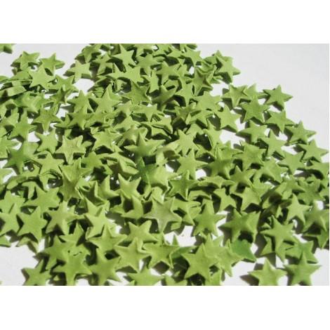 Kalėdinės žalios spalvos žvaigždutės