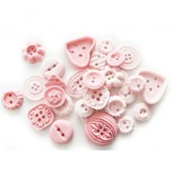 Rožinės, šviesiai rožinės sagos