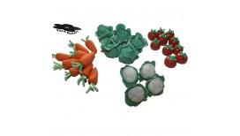 Daržovių rinkinys 3D