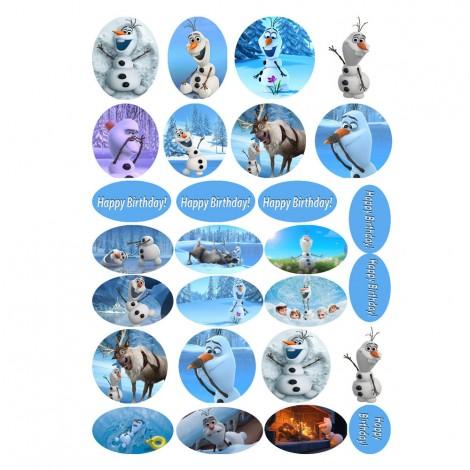 Olafas iš animacinio filmo Frozen